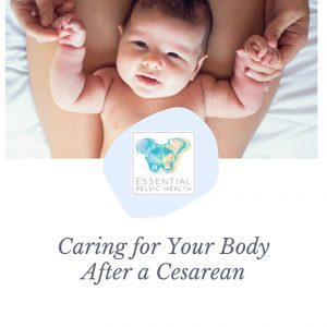 Care for your body after a Cesarean Cover (1)